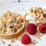 New winter cakes & Christmas cakes from Snowflake Luxury Gelato